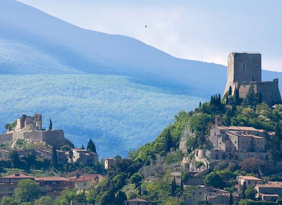 <h4><center>Castiglione d'Orcia
