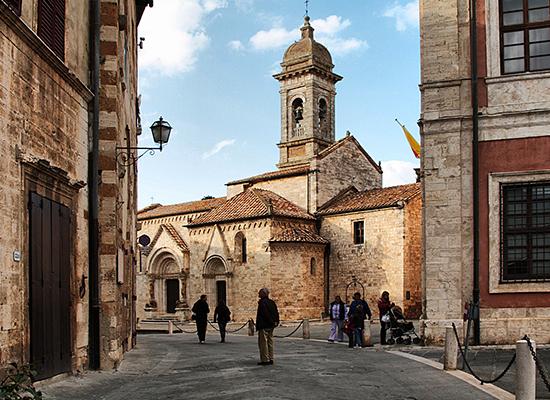 <h4><center>San Quirico d'Orcia